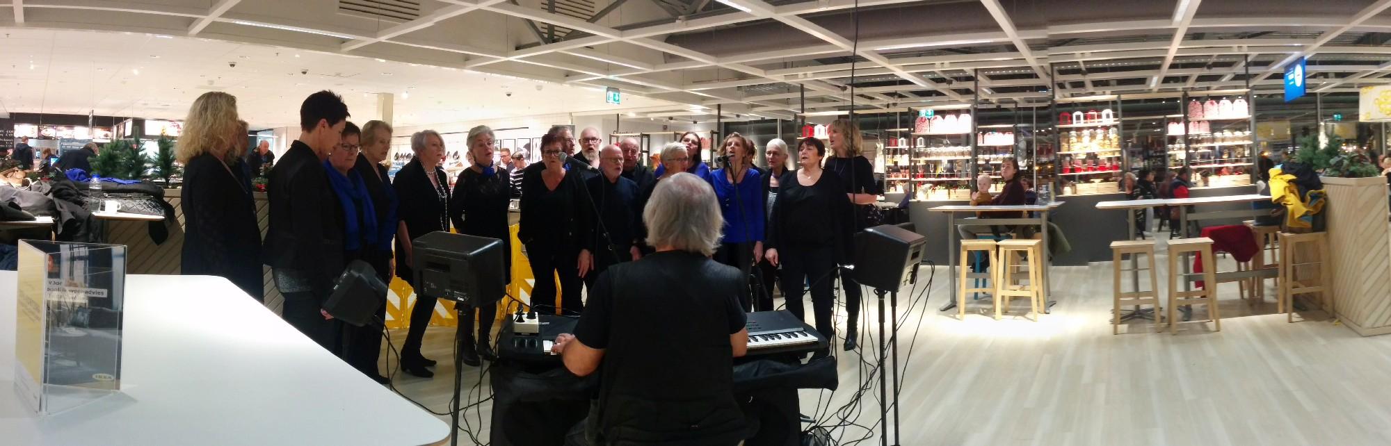 Optredens IKEA 19 en 20 december