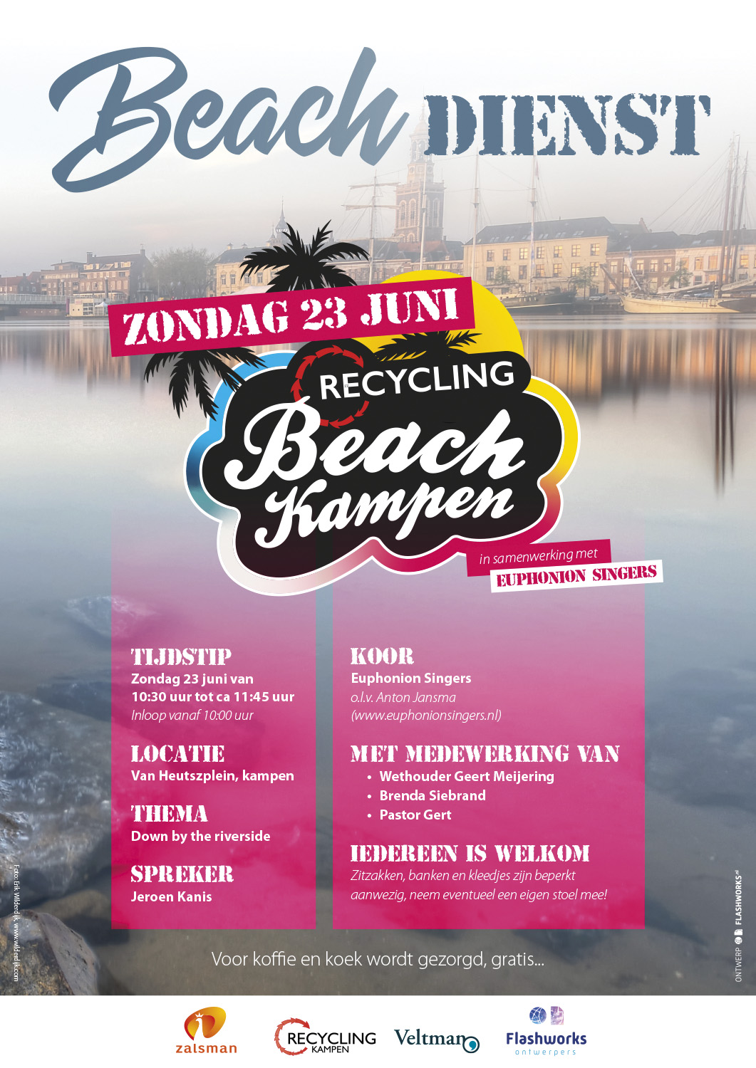 Beachdienst Kampen 23 juni